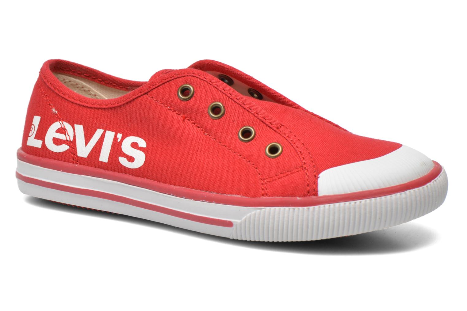 Sneakers Levi's Gong Rood 3/4'