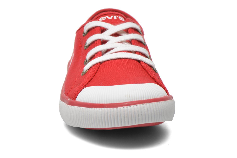 Sneaker Levi's Gong rot schuhe getragen