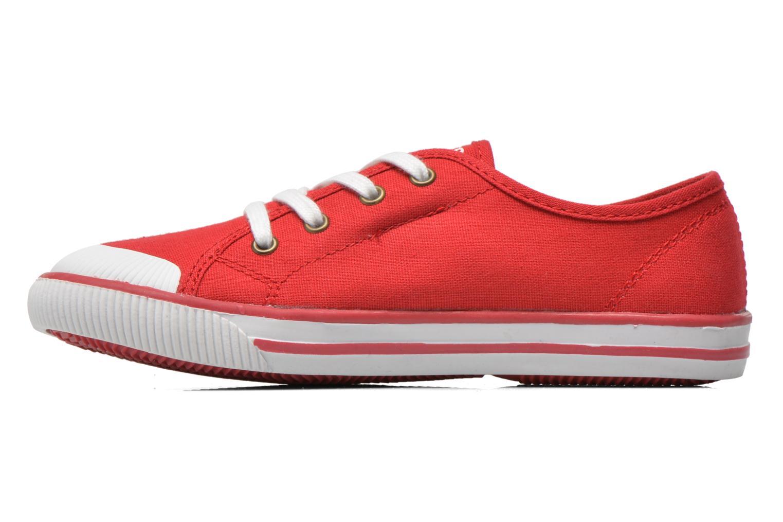 Sneaker Levi's Gong rot ansicht von vorne