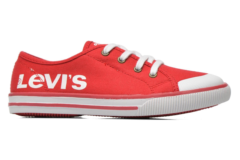 Sneaker Levi's Gong rot ansicht von hinten