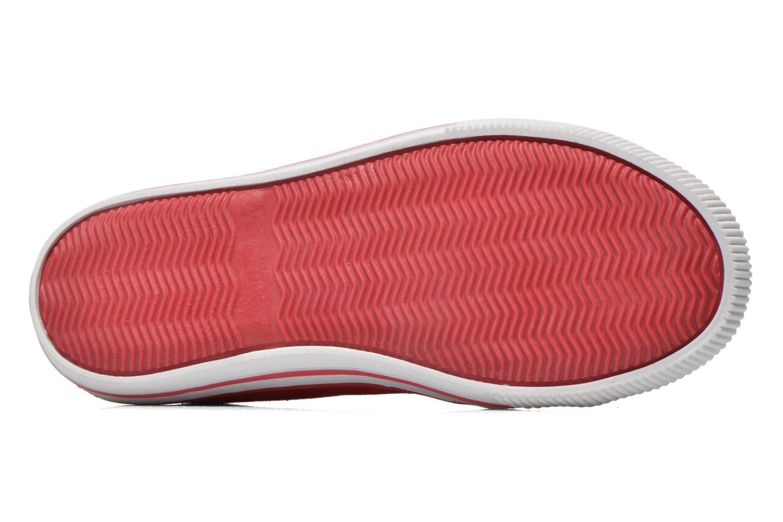 Sneaker Levi's Gong rot ansicht von oben