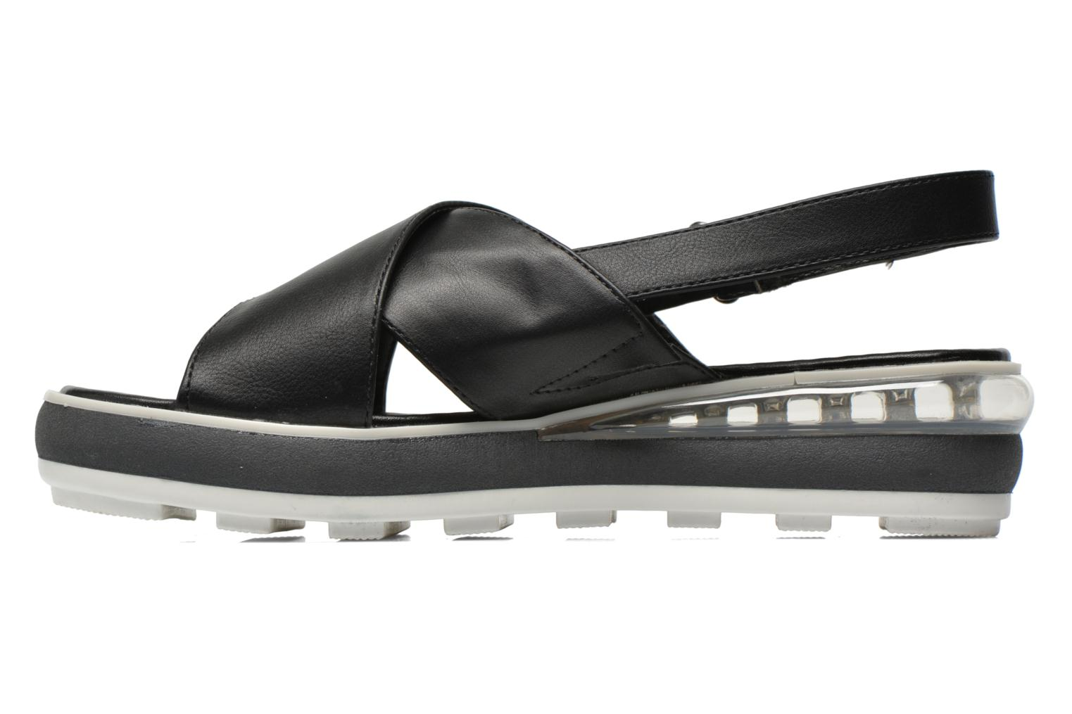 Sandals Sixty Seven Maolky Black front view