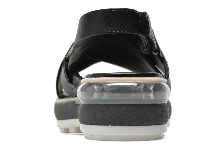 Sandales et nu-pieds Sixty Seven Maolky Noir vue droite