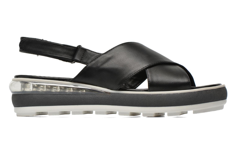 Sandales et nu-pieds Sixty Seven Maolky Noir vue derrière