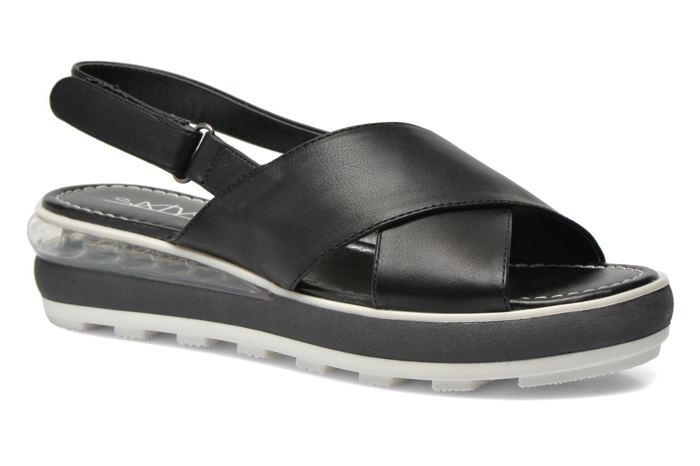 Sandales et nu-pieds Sixty Seven Maolky Noir vue détail/paire
