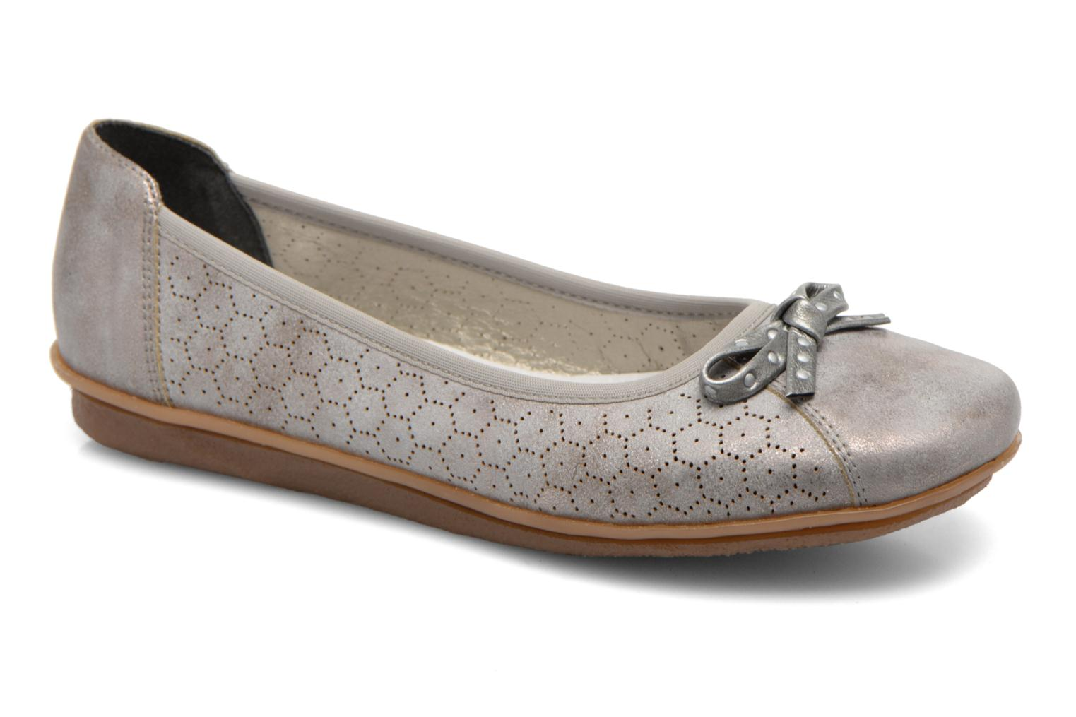 Ballet pumps Rieker Valy 43965 Grey detailed view/ Pair view