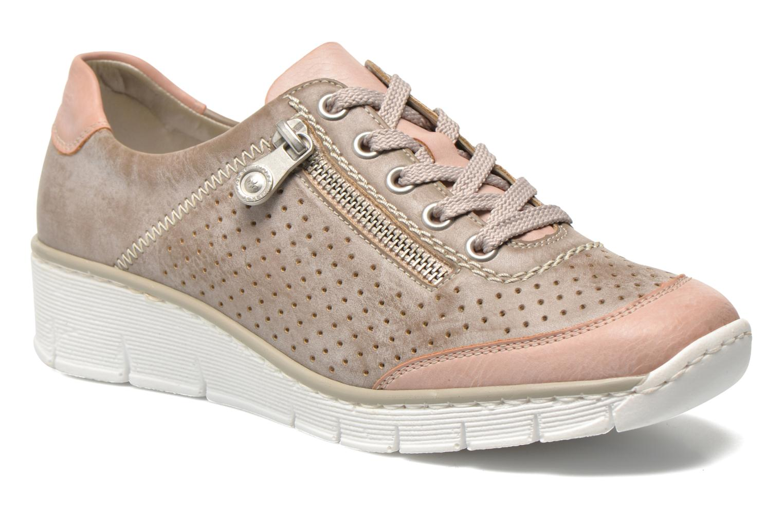 Sneakers Rieker Walket 53725 Beige detail