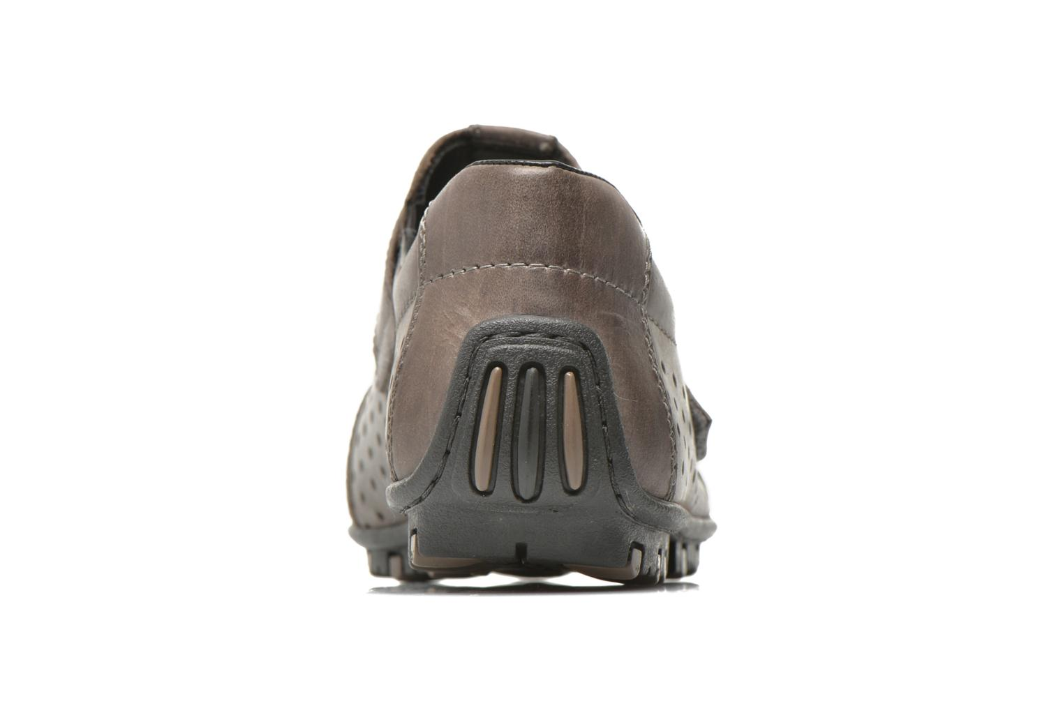 Loafers Rieker Tul 08984 Grey view from the right