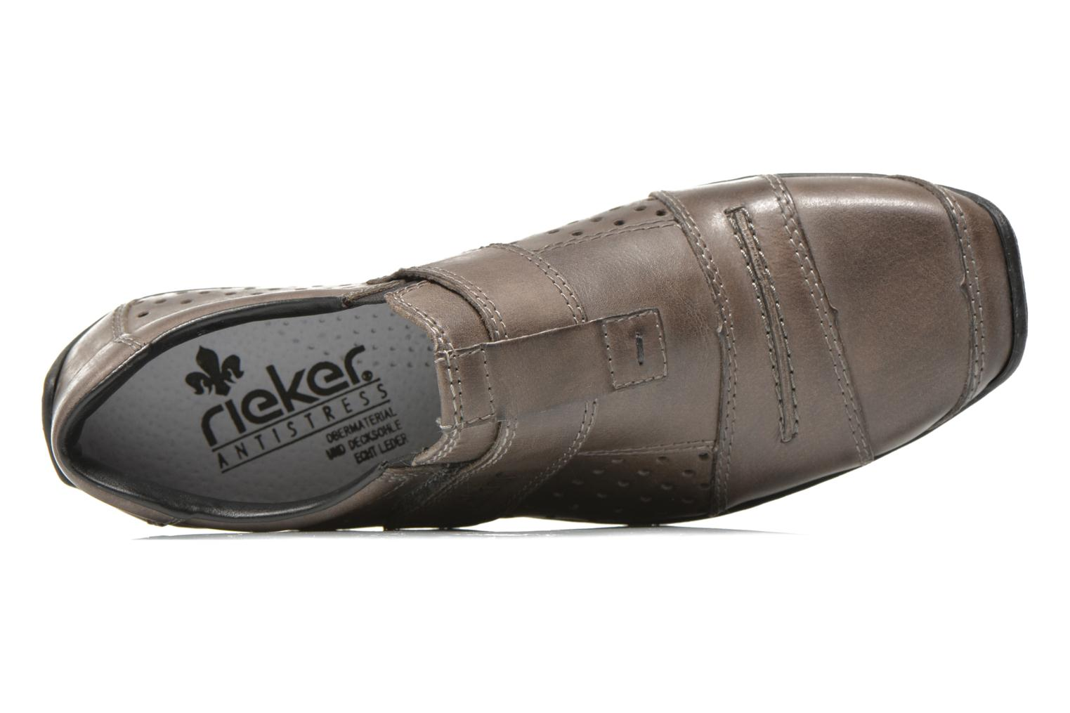 Loafers Rieker Tul 08984 Grey view from the left