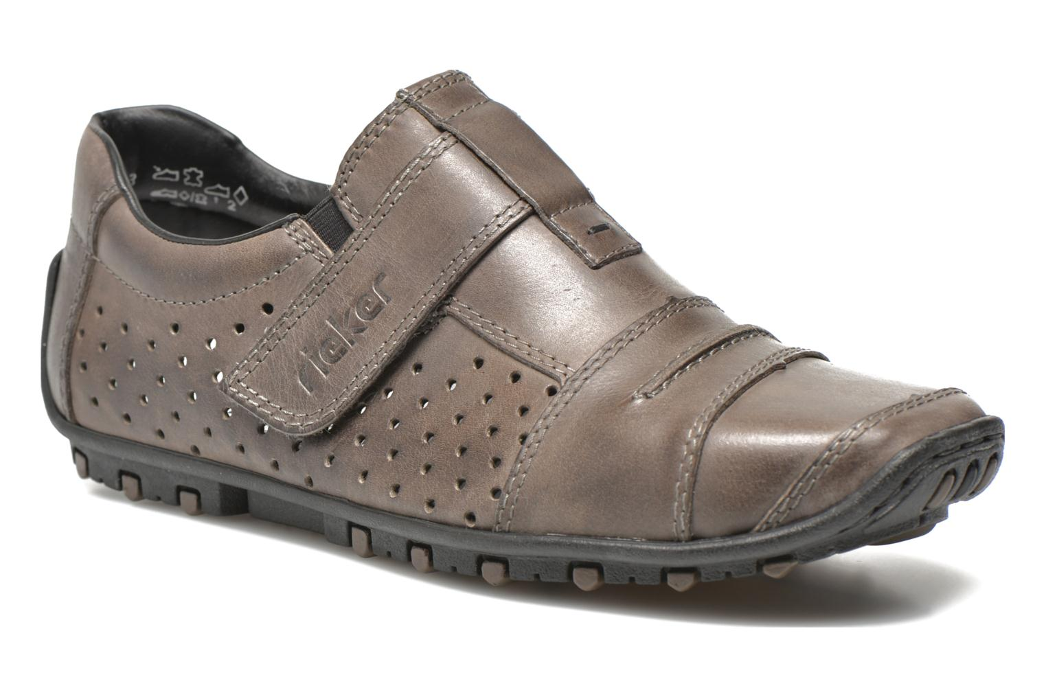 Loafers Rieker Tul 08984 Grey detailed view/ Pair view