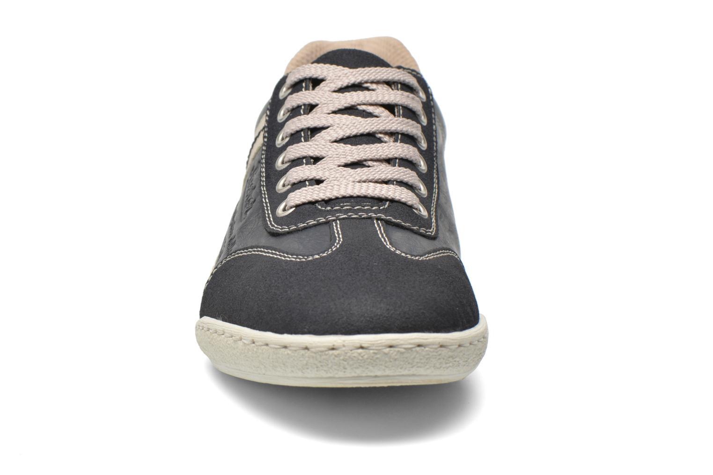 Baskets Rieker Loop 19112 Bleu vue portées chaussures