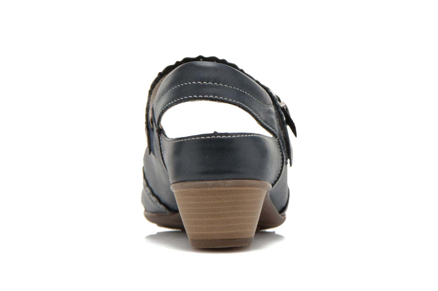 High heels Remonte Frid D7318 Black view from the right