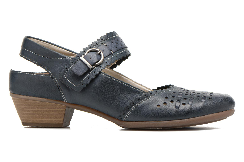 High heels Remonte Frid D7318 Black back view