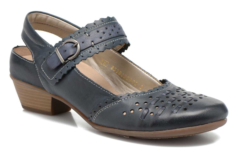 High heels Remonte Frid D7318 Black detailed view/ Pair view
