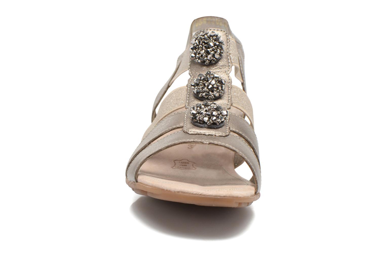 Sandales et nu-pieds Remonte Jewel R5267 Beige vue portées chaussures