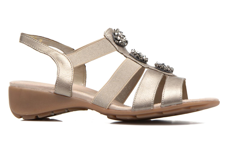 Sandales et nu-pieds Remonte Jewel R5267 Beige vue derrière