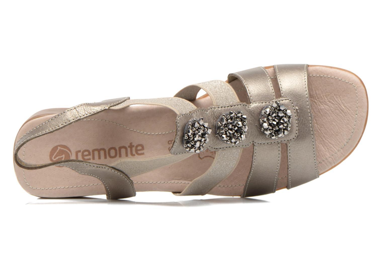 Sandales et nu-pieds Remonte Jewel R5267 Beige vue gauche
