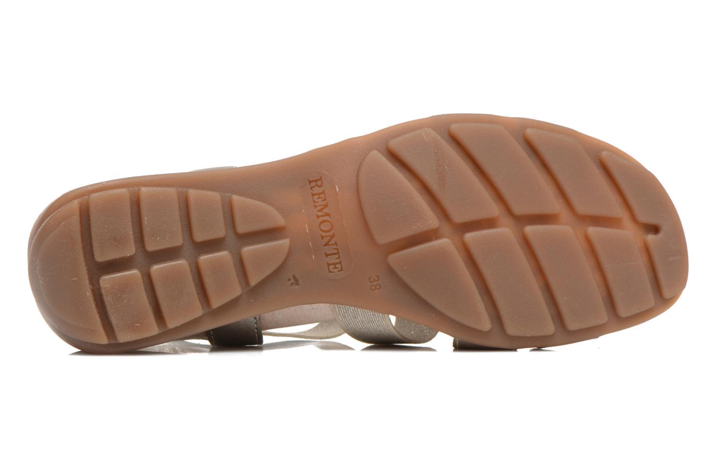 Sandales et nu-pieds Remonte Jewel R5267 Beige vue haut