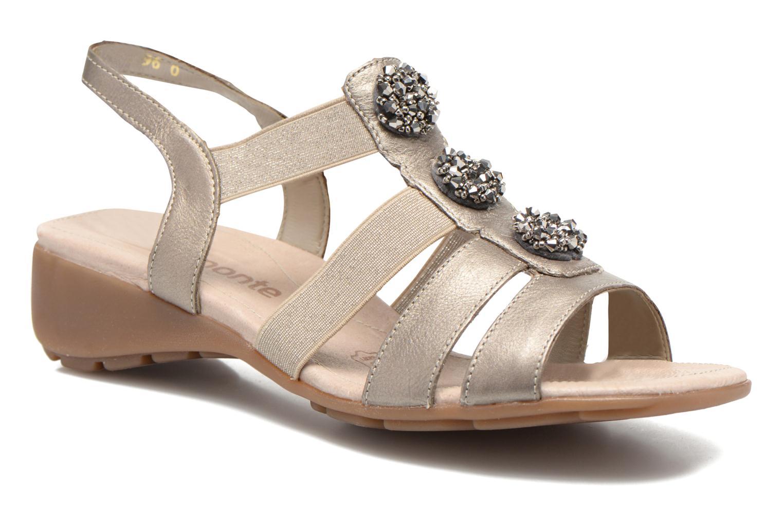 Sandales et nu-pieds Remonte Jewel R5267 Beige vue détail/paire