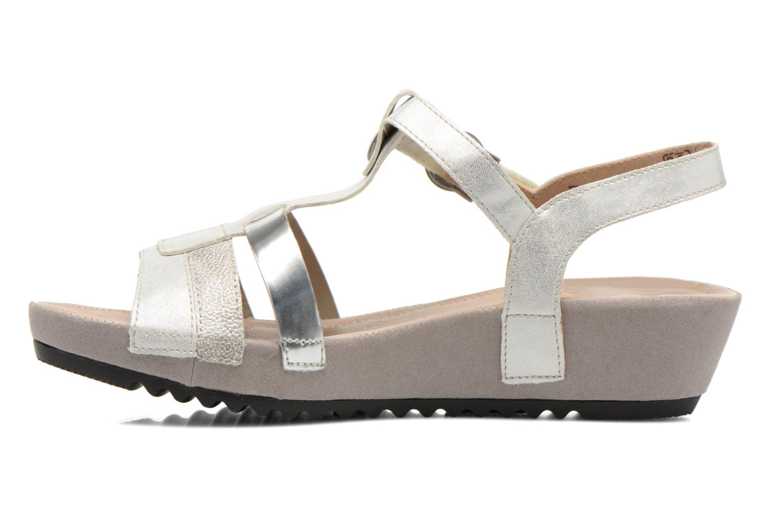 Sandals Remonte Lou R5757 Grey front view