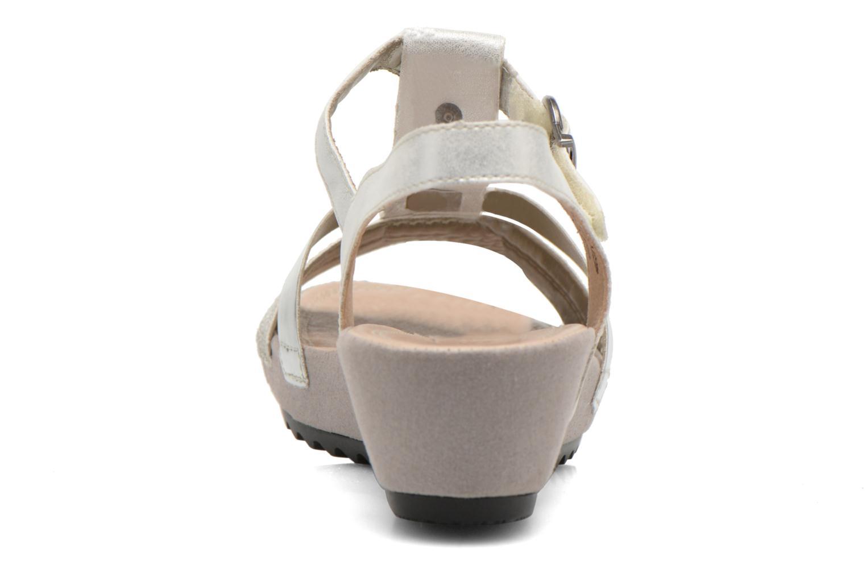 Sandales et nu-pieds Remonte Lou R5757 Gris vue droite