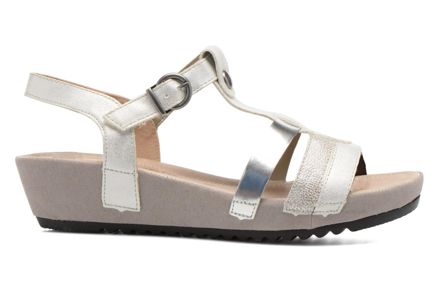 Sandals Remonte Lou R5757 Grey back view