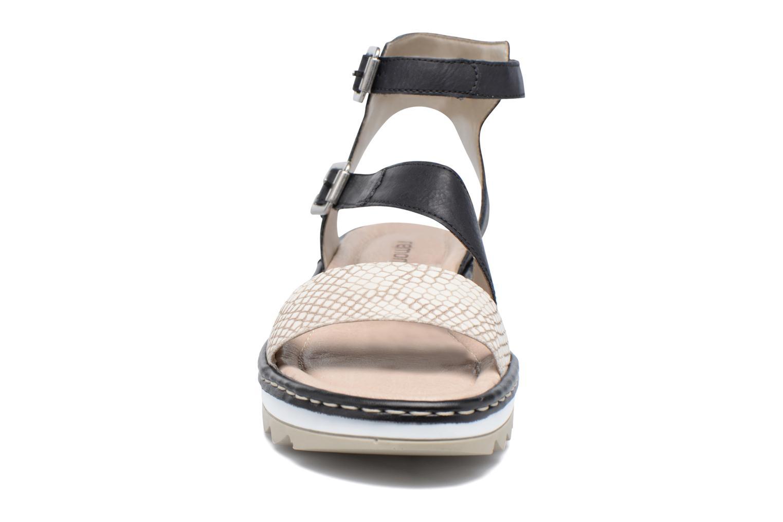 Sandales et nu-pieds Remonte Fash R7752 Noir vue portées chaussures