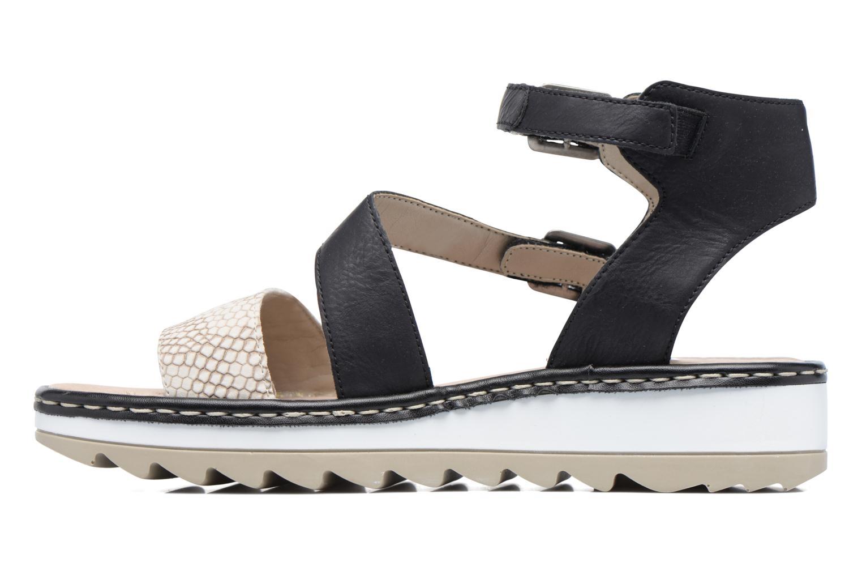 Sandales et nu-pieds Remonte Fash R7752 Noir vue face