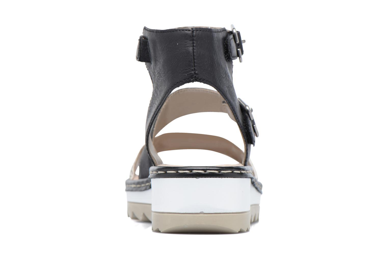 Sandales et nu-pieds Remonte Fash R7752 Noir vue droite
