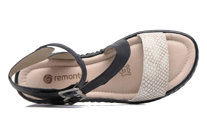 Sandales et nu-pieds Remonte Fash R7752 Noir vue gauche