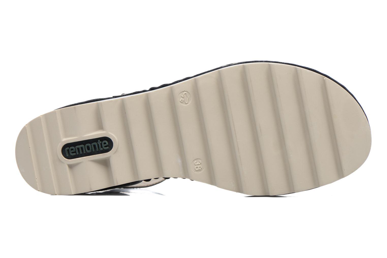 Sandales et nu-pieds Remonte Fash R7752 Noir vue haut