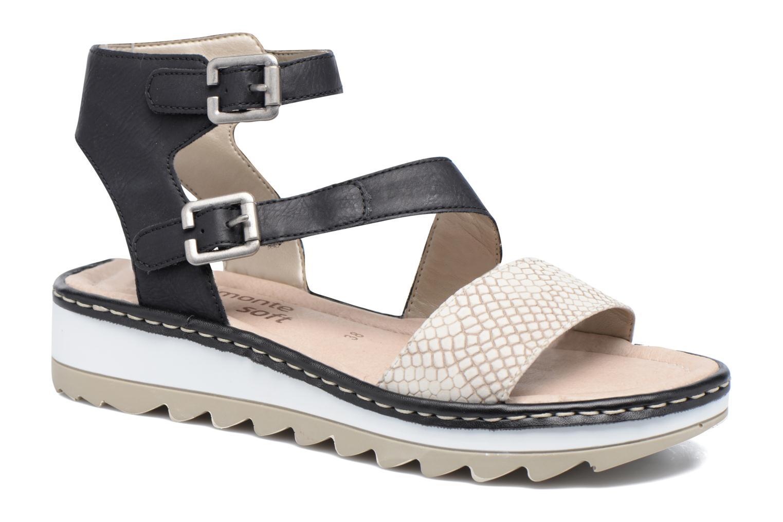 Sandales et nu-pieds Remonte Fash R7752 Noir vue détail/paire