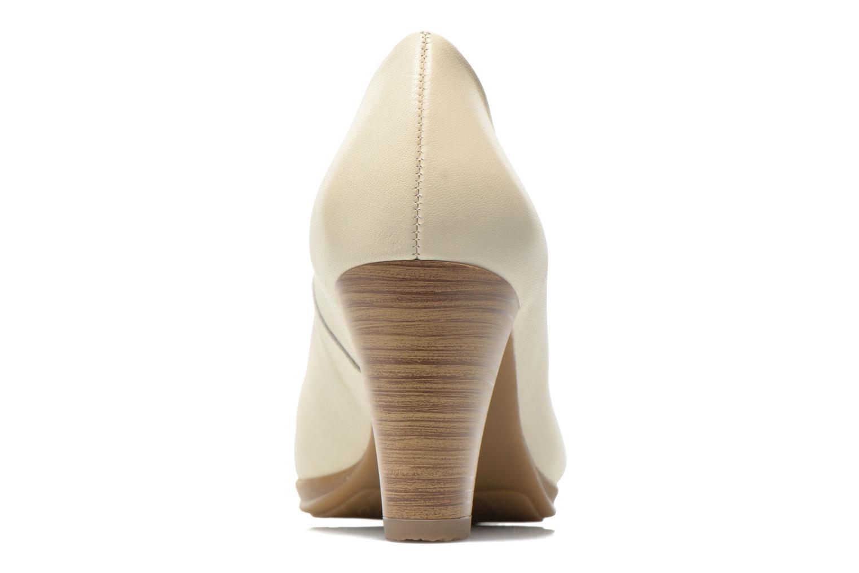 Londre vernis perle veau ivoire