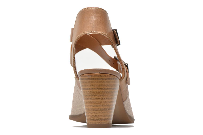 Zapatos de tacón Karston Kzola Beige vista lateral derecha