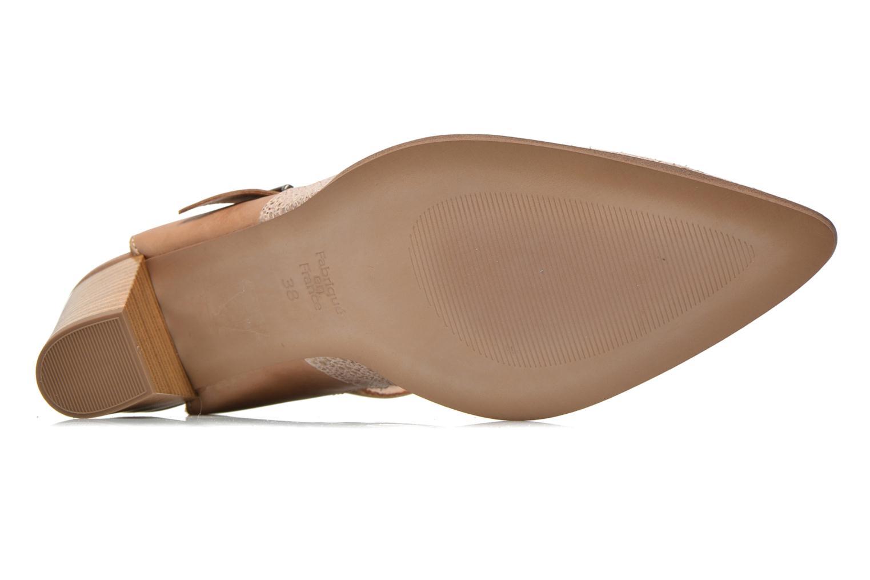Zapatos de tacón Karston Kzola Beige vista de arriba