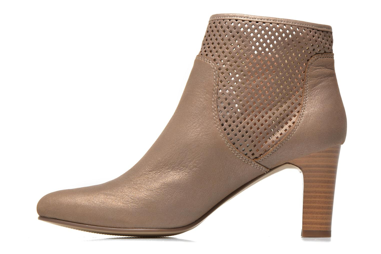 Ankle boots Karston Avina Bronze and Gold front view