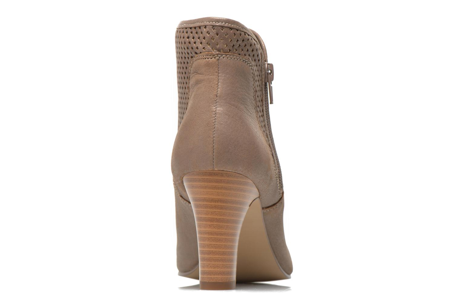 Ankle boots Karston Avina Bronze and Gold view from the right