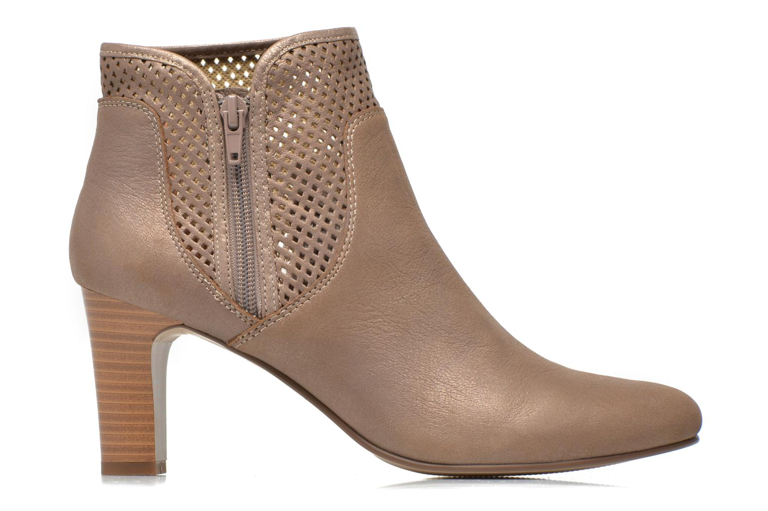 Ankle boots Karston Avina Bronze and Gold back view