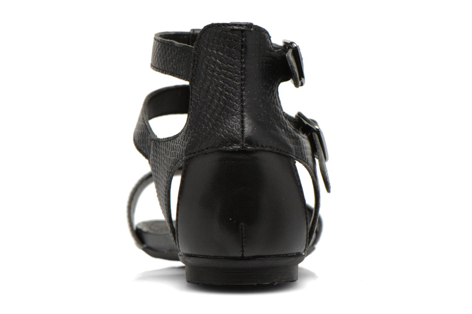 Sandals Karston Kozin Black view from the right