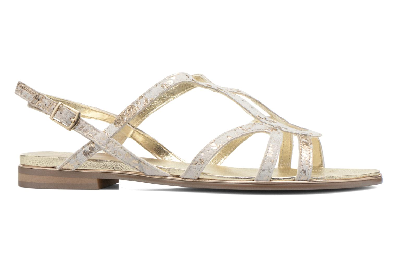 Sandales et nu-pieds Karston Sofor Or et bronze vue derrière