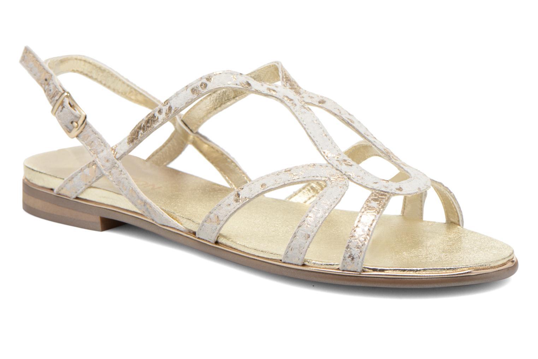 Sandaler Karston Sofor Guld og bronze detaljeret billede af skoene