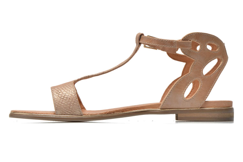 Sandales et nu-pieds Karston Sonat Beige vue face