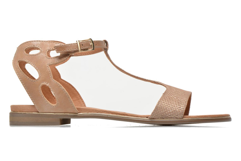 Sandales et nu-pieds Karston Sonat Beige vue derrière