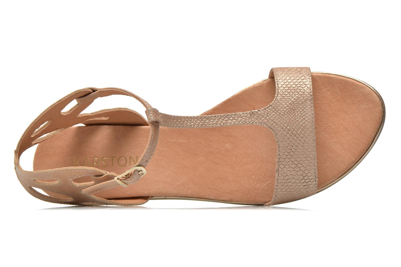 Sandales et nu-pieds Karston Sonat Beige vue gauche