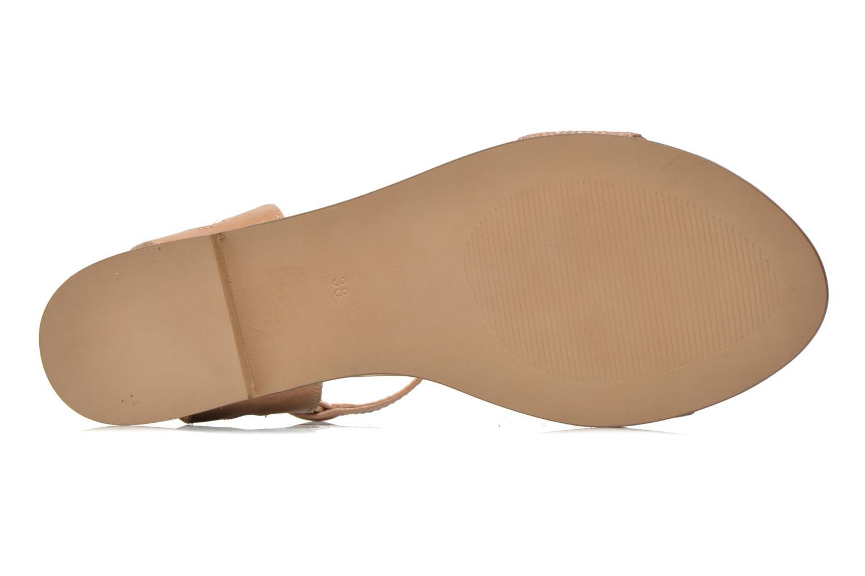 Sandales et nu-pieds Karston Sonat Beige vue haut