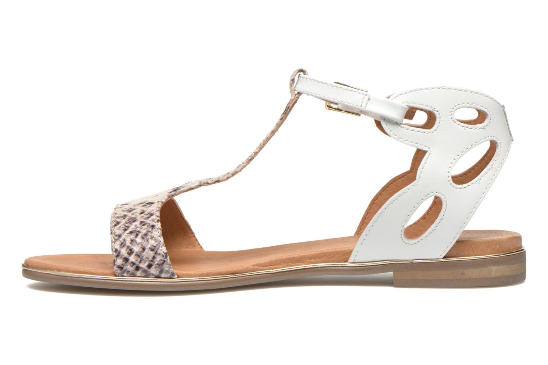 Sandales et nu-pieds Karston Sonat Blanc vue face