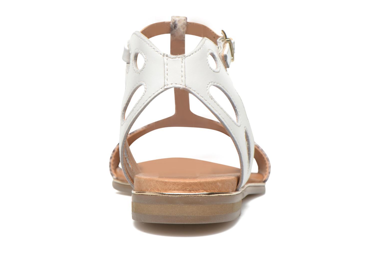 Sandales et nu-pieds Karston Sonat Blanc vue droite