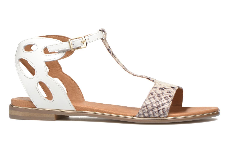 Sandales et nu-pieds Karston Sonat Blanc vue derrière