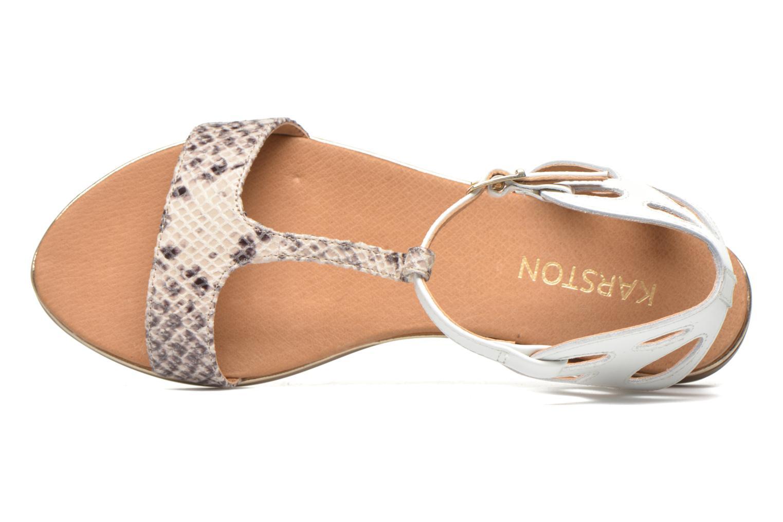 Sandales et nu-pieds Karston Sonat Blanc vue gauche