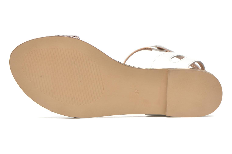 Sandales et nu-pieds Karston Sonat Blanc vue haut